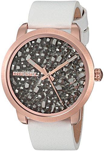 b80b84a09671 Diesel Mujer Dz5551 Flare Rocks Reloj De Cuero Blanco -   223.440 en ...