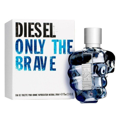 diesel only the brave para hombre, 75 ml - barulu