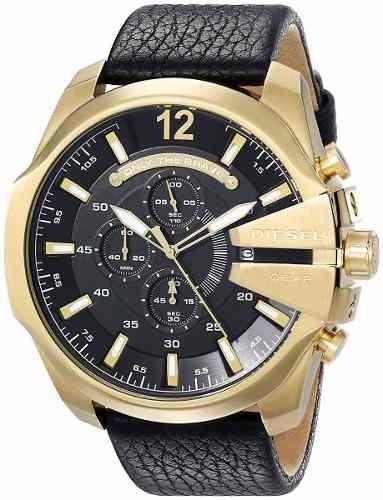3d6621ee2ee6 Diesel - Reloj Dz4344 Mega Chief Gold Para Hombre - S  809