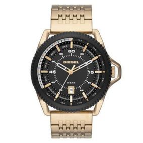 87831c62f1a8 Reloj De Oro Hombre Hombres Diesel Relojes Joyas Pulsera - Relojes ...