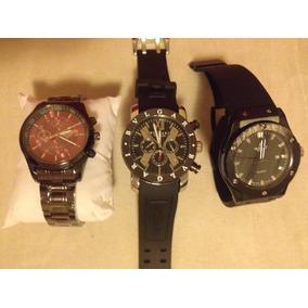 a13cdf4515fe Reloj De Hombre Marca Diesel Time - Diesel en Relojes Pulsera ...