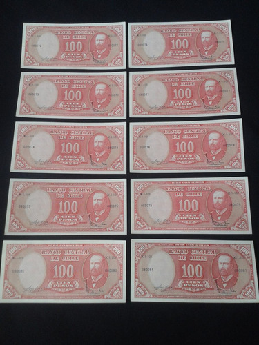 diez billetes molina ibañez correlativos