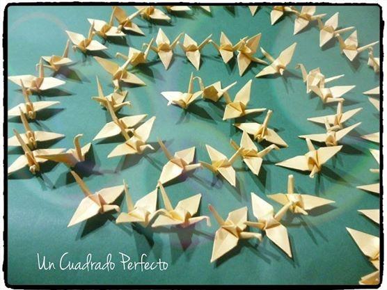 Diez Guirnaldas De Grullas Origami Eventos Decoracion