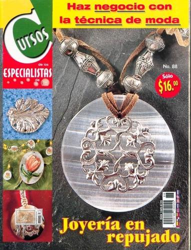 diez revistas de repujado y pirograbado
