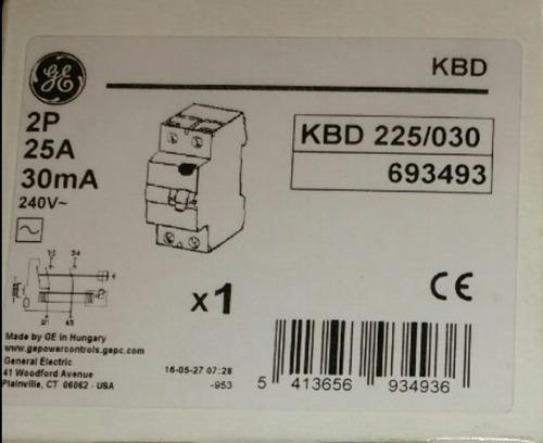 diferencial 2x25 amp. general electric original