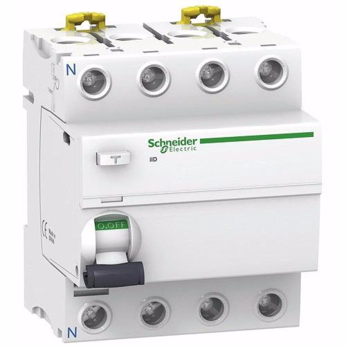 diferencial disyuntor schneider 4x63a 300ma super inmunizado