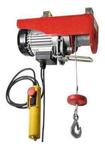 diferencial electrica - polipasto 600 kg 12 metros 220 v
