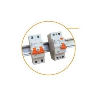 diferencial interruptor salvavida 2x6a din general electric.