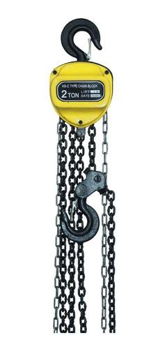diferencial polipasto de cadena de 2 toneladas x 3 metros