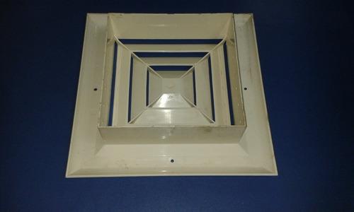 difusor 8x8 (plastico) 4 vias s/control