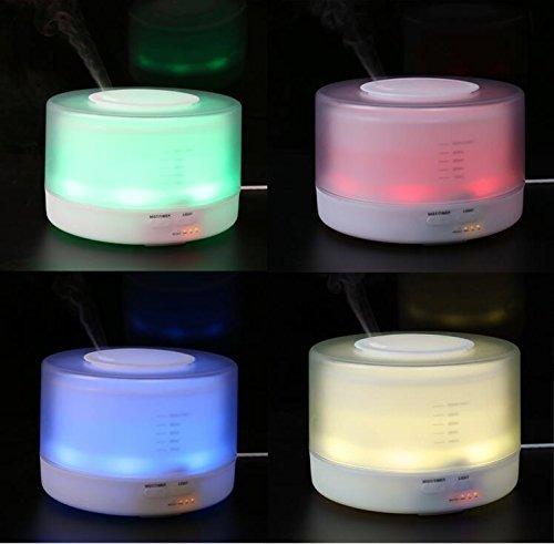 difusor aroma humidifica colores 4 en1 500m + envio gratis