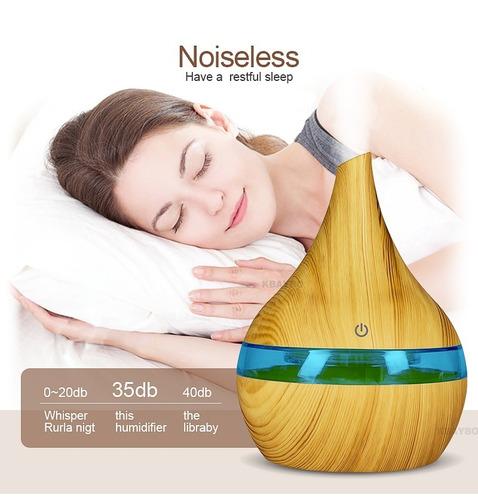 difusor aromas para aceites esenciales, ultrasónico de 300ml