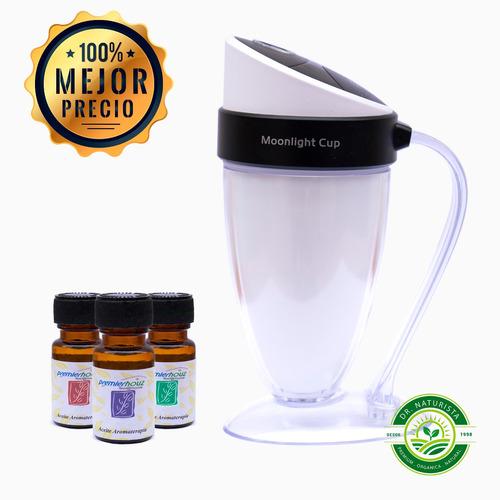difusor aromaterapia electrico chile + 3 aceite esencial