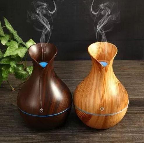 difusor aromaterapia usb 130ml ultrasonico humidificador