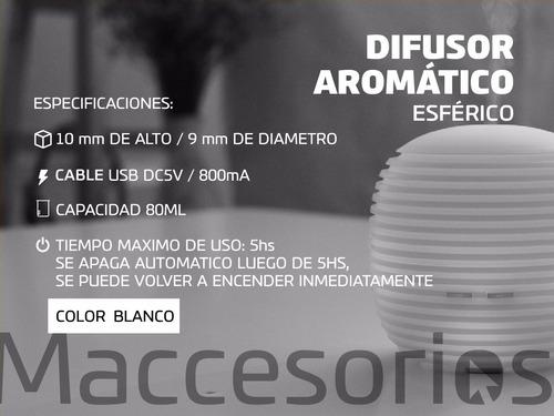 difusor aromatico ultrasonico - aromaterapia - premium