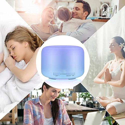 difusor de aceites esenciales de 500 ml para aromaterapia