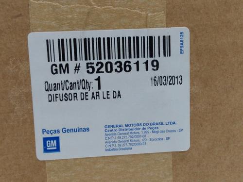 difusor de ar do painel le onix/prisma 13/16 gm - 52036119