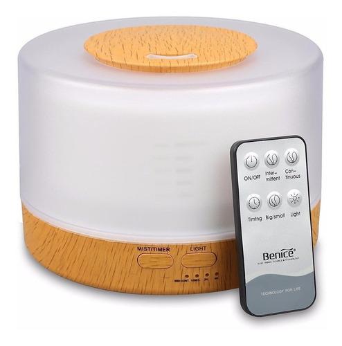 difusor de aroma humidificador ultrasonido ionizador 4 en 1