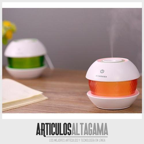 difusor de aromas 150 ml humidificador aromaterapia led