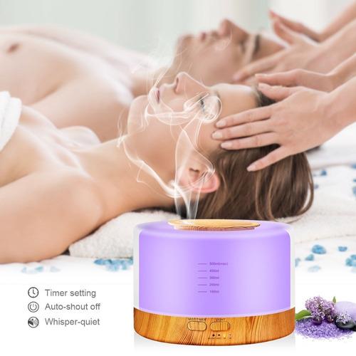 difusor de aromas 500 ml control remoto humidificador nuevo