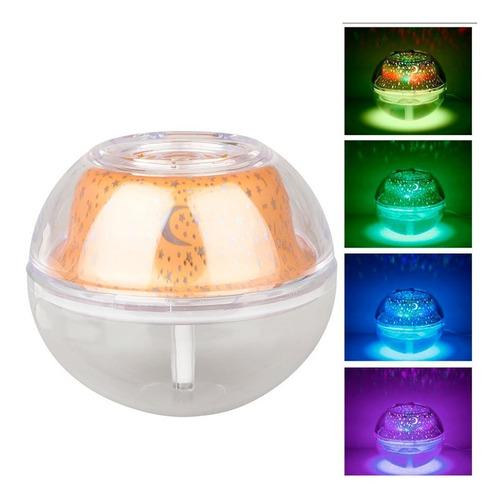 difusor de aromas 500ml humidificador proyector de luces