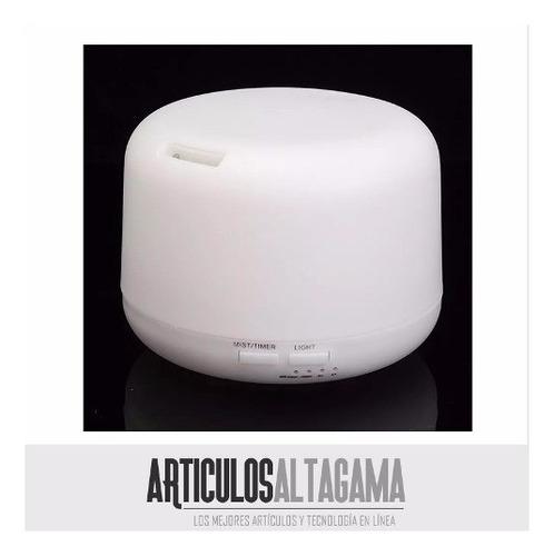 difusor de aromas humidificador de 500ml aromaterapia luces