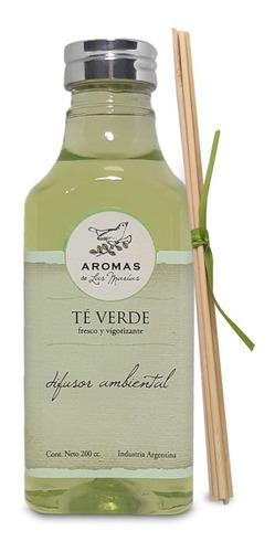 difusor de bamboo aroma té verde