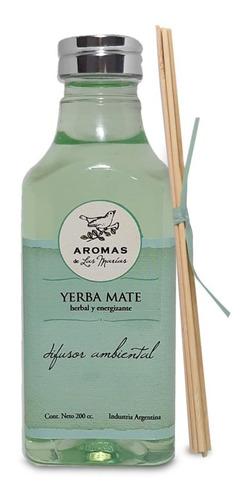 difusor de bamboo aroma yerba mate