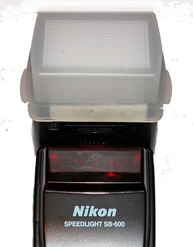 difusor de luz para flash externo nikon sb600 nuevo css