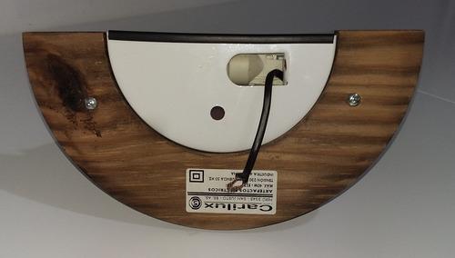 difusor de madera 1 luz.usado. buen estado!!