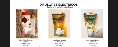 difusor eléctrico sonoma para cubos de cera