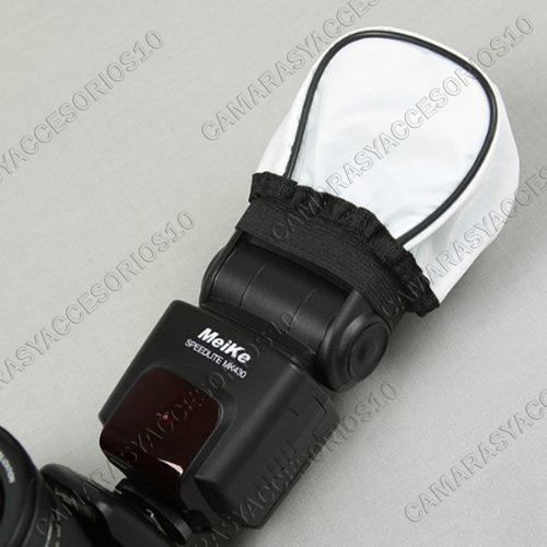difusor flash de camara softbox  canon nikon sony