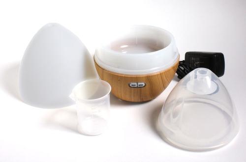 difusor humidificador aromaterapia +2aceites bluetooth music