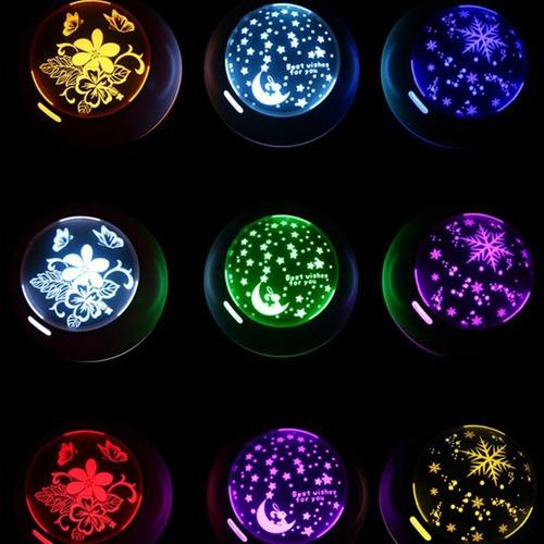 difusor humidificador aromaterapia luz y sombra led color /e