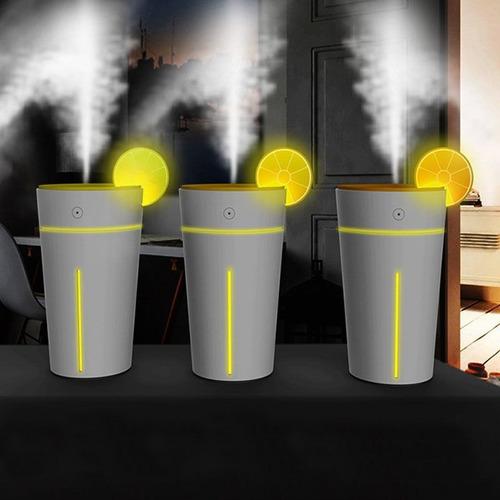 difusor humidificador aromatizador ambiente limon usb 200 ml