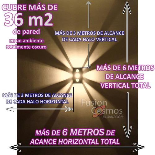 difusor interior pared bidireccional efecto regulable  9en1