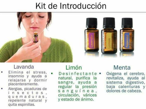 difusor original + 3 aceites esenciales,doterra.envio gratis