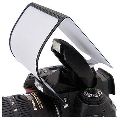 difusor para flash incorporado popup 3 en 1 para canon nikon
