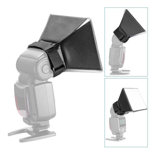 difusor para flash mini softbox universal speedlite foto