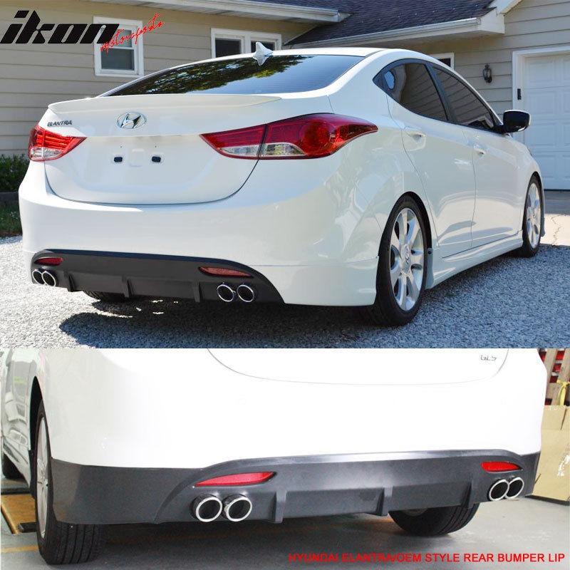 Hyundai Elantra Hatchback 2014: Difusor Para Hyundai Elantra 2011-2014 Bajo Pedido