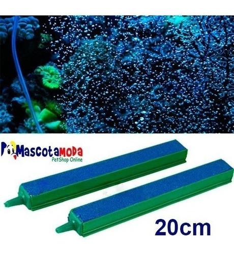 difusor piedra de 20cm para burbujas acuarios y peceras