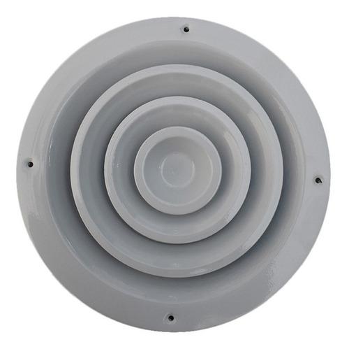 difusor redondo aire acondicionado diametro 20 cm - 5u