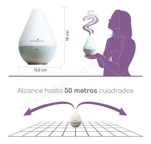 difusor yl aromaterapia humidificador 180ml aceite de regalo