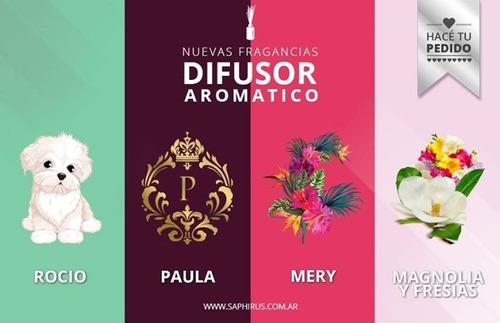 difusores aromaticos saphirus varillas