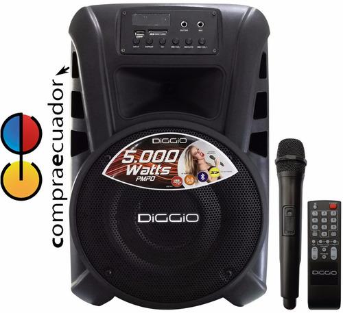 diggio parlante amplificador 5000 v bluetooth recargable usb