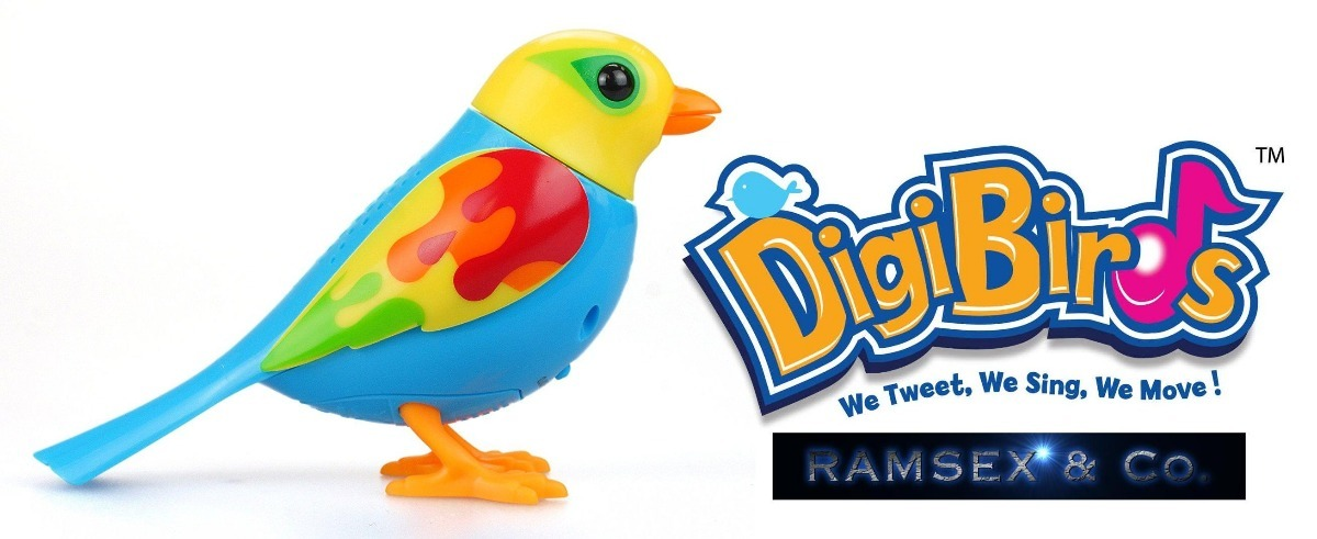 Digibirds Juguete Gemma Ave Canta Sola Y Coro Electrónica