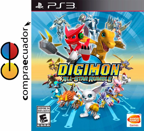 digimon all start rumble ps3 juego original sellado ps3