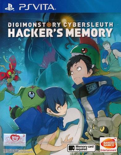 digimon story cyber sleuth hacker's memory ps vita em inglês