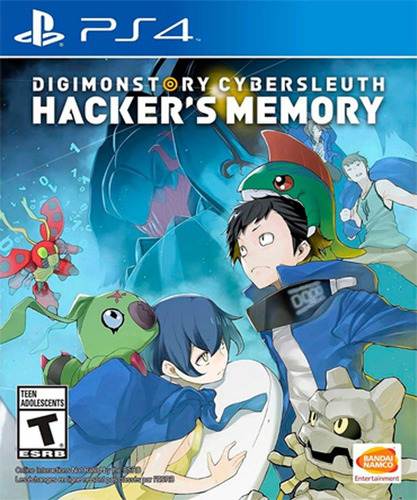 digimon story cybersleuth hacker's memory ps4 - audiojuegos