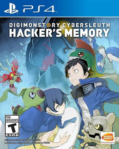 digimon story cybersluth hacker memory - ps4 sellados